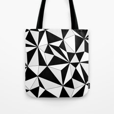 Geo - gray, black and white. Tote Bag