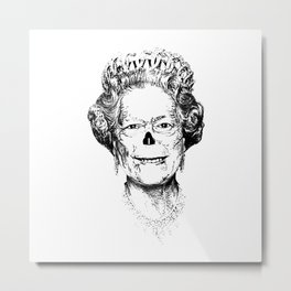 The Warming Dead! The Queen. Metal Print