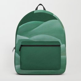 A lovely forest green circle existing happily in some hills Backpack