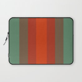 Rust Turquoise Spice 2 - Color Therapy Laptop Sleeve
