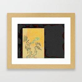 broadcasting Framed Art Print