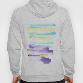 170603 Watercolour Colour Study 6  Modern Watercolor Art   Abstract Watercolors Hoody