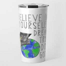 Believe in Yourself - Boy Meets World Graduation Travel Mug