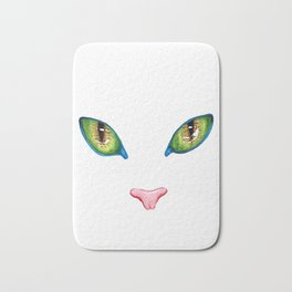 Eyes Cat Bath Mat