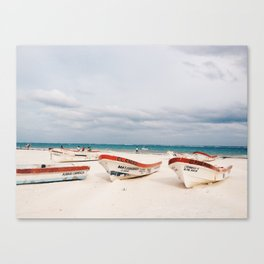 Tulum Beach Canvas Print