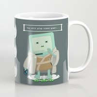 video games Mugs featuring Jedi Mo: You will play video games... by FuManChou
