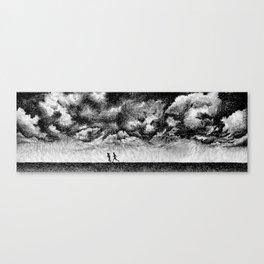 Fingerprint - Rainfall Canvas Print