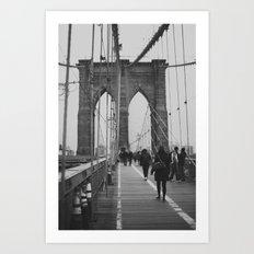 Brooklyn Bridge III Art Print