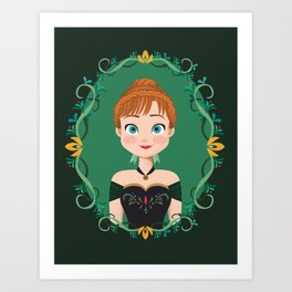 Princess Anna Art Print