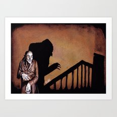 Nosferatu - A Symphony of HORROR! Art Print