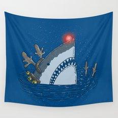 Rudolph Shark Wall Tapestry