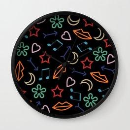 cool pattern Wall Clock