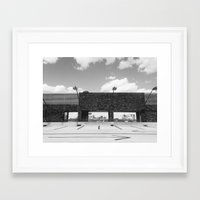 boston Framed Art Prints featuring Boston by Margaux Thibeault