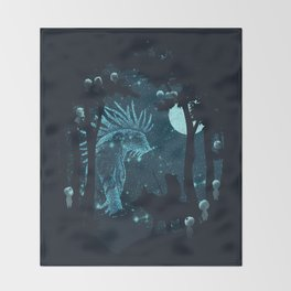 Forest Spirit Throw Blanket