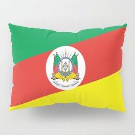 flag of rio grande do sul Pillow Sham
