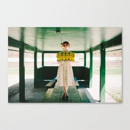 Unhinged Housewife Canvas Print