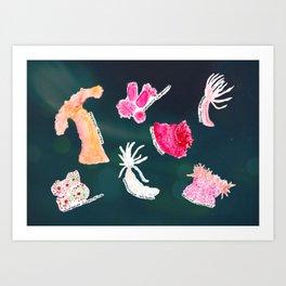 WHITNEY - ocean space Art Print