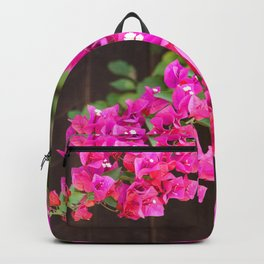 Pink Bougainvillea Backpack