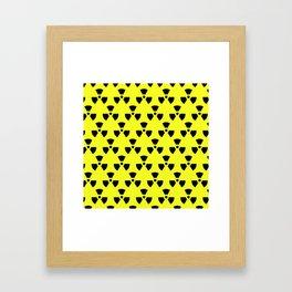 Radiation Pattern Framed Art Print