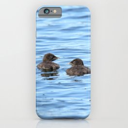 Baby loons iPhone Case