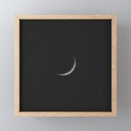 Cheshire Moon Framed Mini Art Print