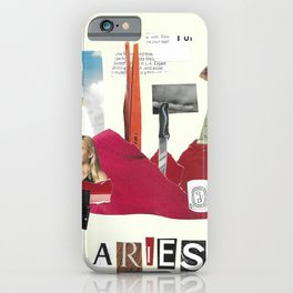 Aries Intuitive Collage iPhone Case
