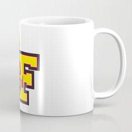 F is for Fireman Illustration Coffee Mug