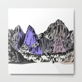 Mt Whitney Metal Print