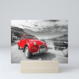 Cornish 2CV  Mini Art Print