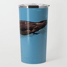 Wood; duck Travel Mug