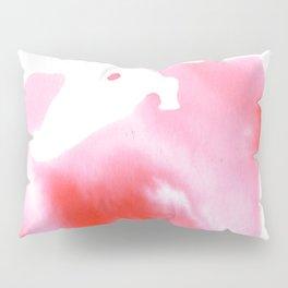 Peach Watercolour Pillow Sham