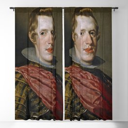 "Diego Velázquez ""Philip IV in Armour"" Blackout Curtain"