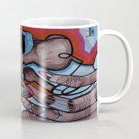 murakami Mugs featuring China girl by Joseph Walrave