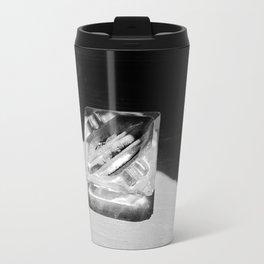 2 Cigarettes In An Ashtray Travel Mug