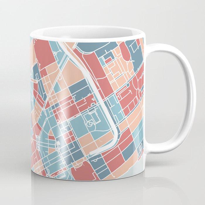 Detroit map Coffee Mug