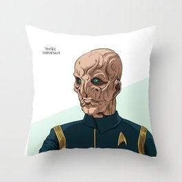 You're Important Throw Pillow