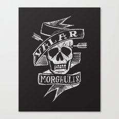 all men must die Canvas Print