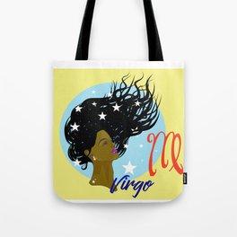 Virgo Woman Tote Bag