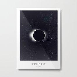 Eclipsis MMXVII Metal Print