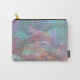 Words and Water Paint 2 Carry-All Pouch