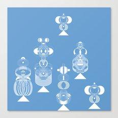 blue menneke Canvas Print