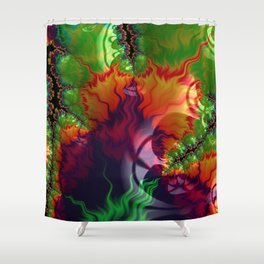 Fire Up Shower Curtain
