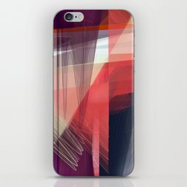 Abstract 391 iPhone Skin