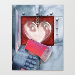 The Oz Suite - the Tin Man Canvas Print