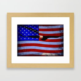 America!! Framed Art Print