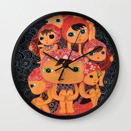 Swim Team Wall Clock