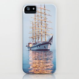 Ghost Ship. iPhone Case