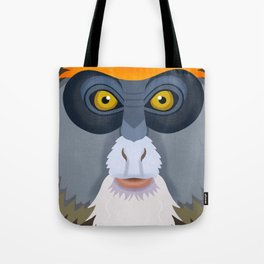 De Brazza's Monkey Tote Bag