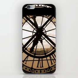 Parisian time iPhone Skin