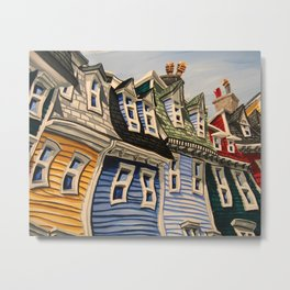 Prescott Street (Rooftops) Metal Print